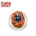 Blueberry Graham Waffle